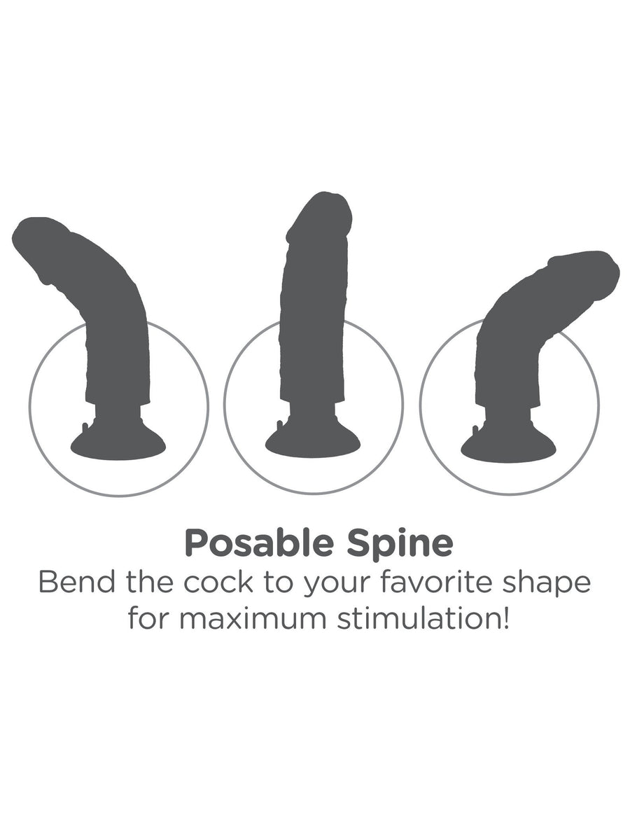 King Cock 10 in. Vibrating Cock with Balls - joujou.com.au