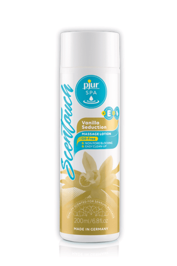 PJUR SPA SCENTOUCH VANILLA MASSAGE LOTION 200ML - joujou.com.au