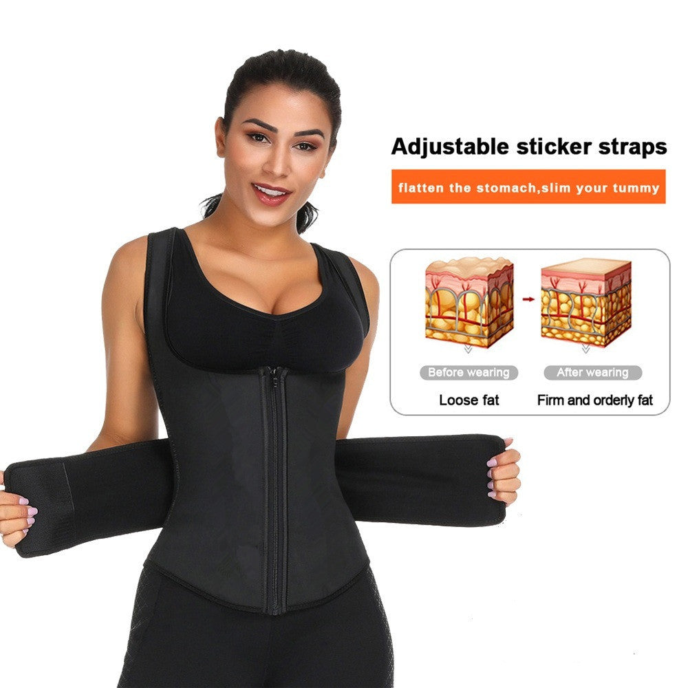 Waist Cincher Shaper Slimmer Sweat Waist Trainer Corset Trimmer