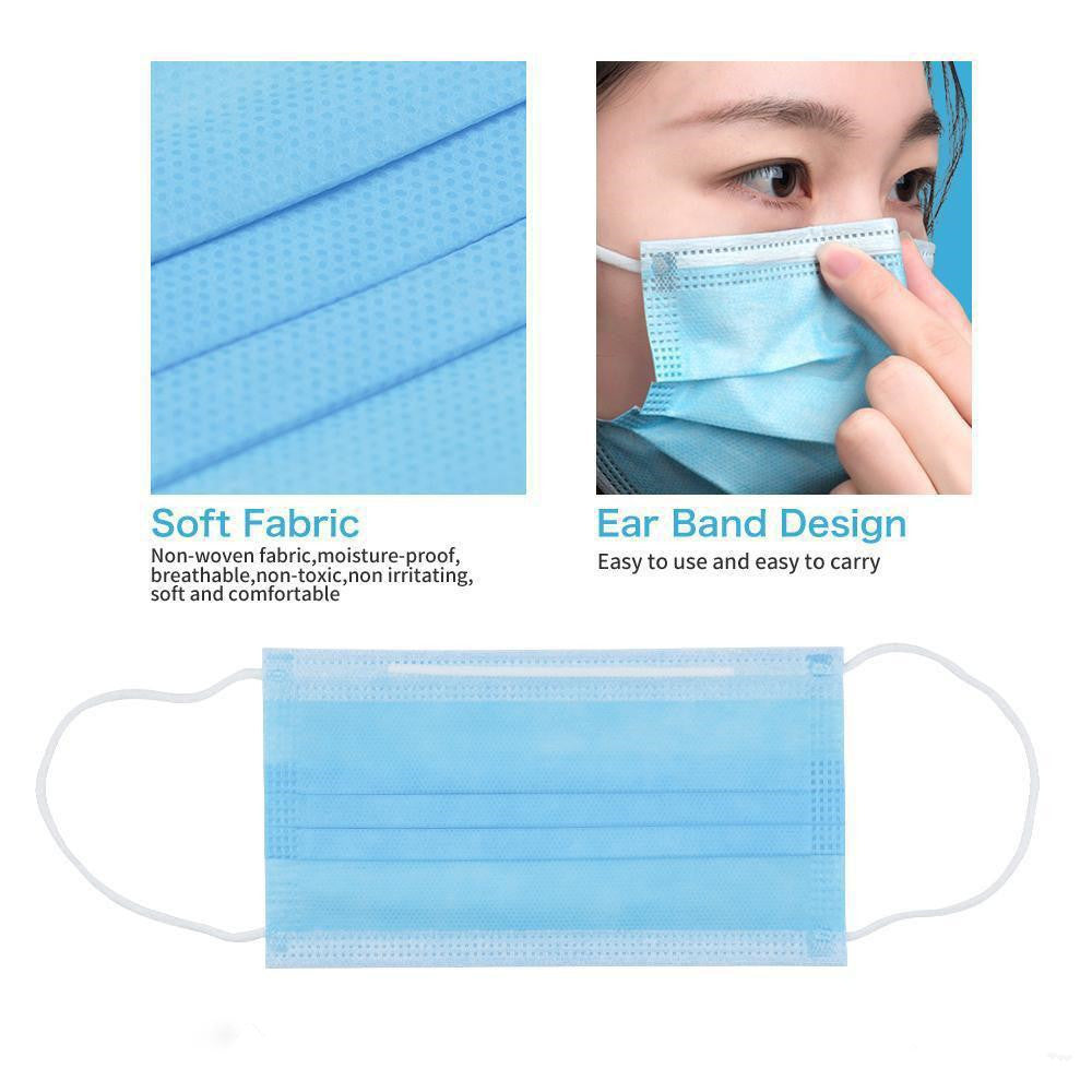 100PCS Disposable Face Masks Ready to Ship - US$0.79/PC  $79.00