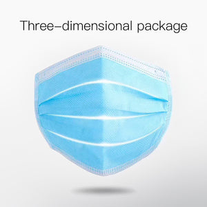 3-Ply Disposable Protective Masks - 20,000 units