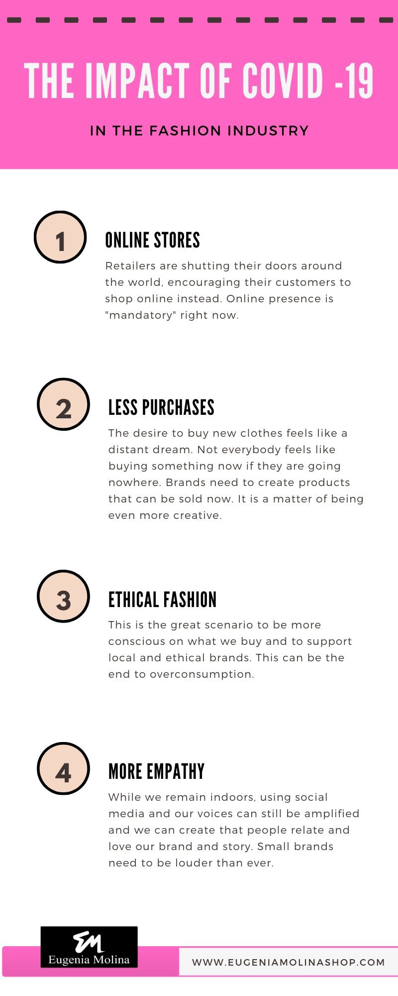 the impact of covid - 19 in fashion industry