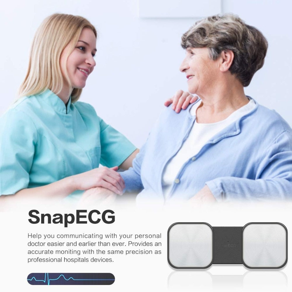Wireless Handheld ECG Heart Monitor - POPHOLLY