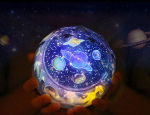 Starry Sky Rotate Projector Lamp - POPHOLLY