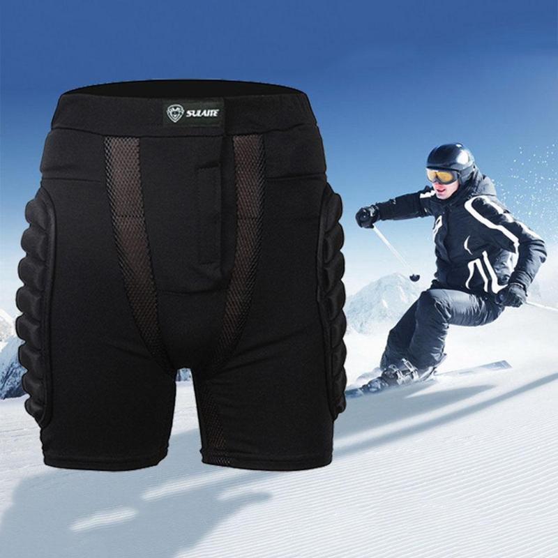 Unisex Snowboard Protection Motorcycle Shorts - POPHOLLY