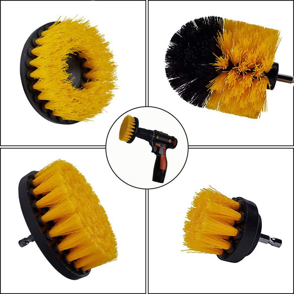 Cleaning Brush For Carpet Glass Car Tires - POPHOLLY