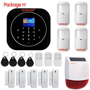 Tuya Smart WIFI GSM Home Alarm System - POPHOLLY
