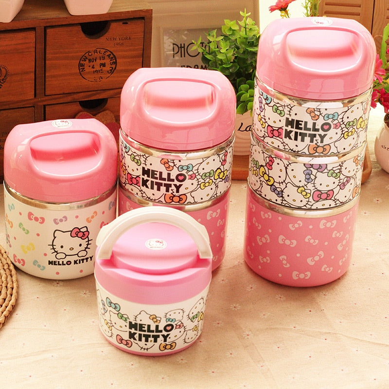 Cute Cartoon Insulation Lunch Box - POPHOLLY