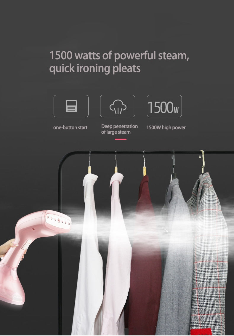Portable Handheld Steam Iron - POPHOLLY