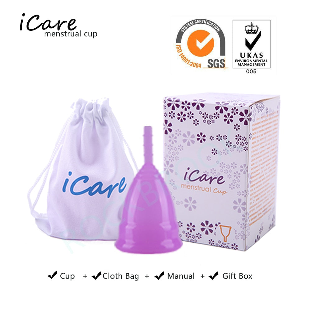 Silicone Menstrual Cup For Woman - POPHOLLY