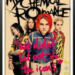Chemical Romance Band wall stickers - POPHOLLY