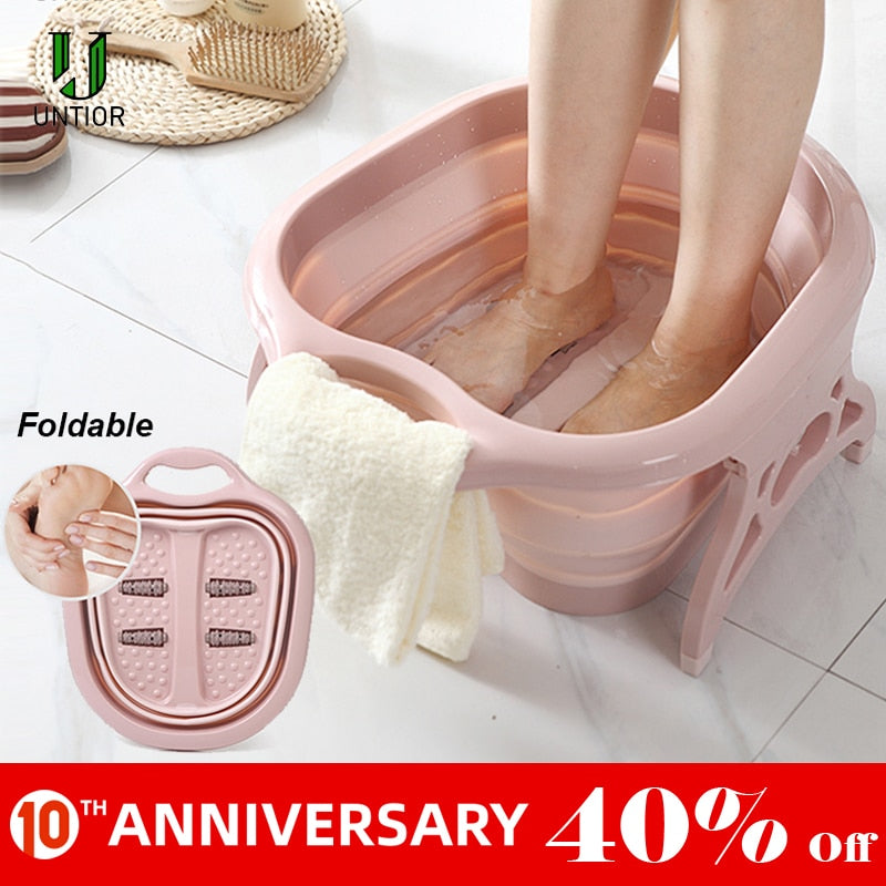 Massage Barrel Tub for Foot Bath - POPHOLLY