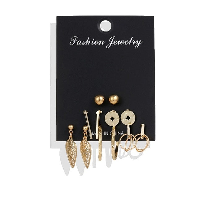 Women's Earrings Set - POPHOLLY