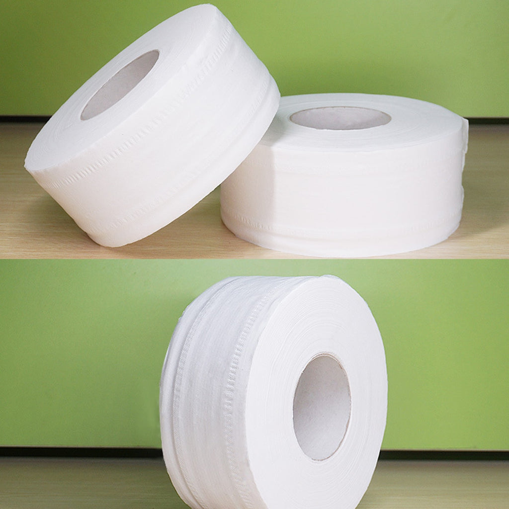 JUMBO 4-Layer Soft Toilet Paper Roll - POPHOLLY