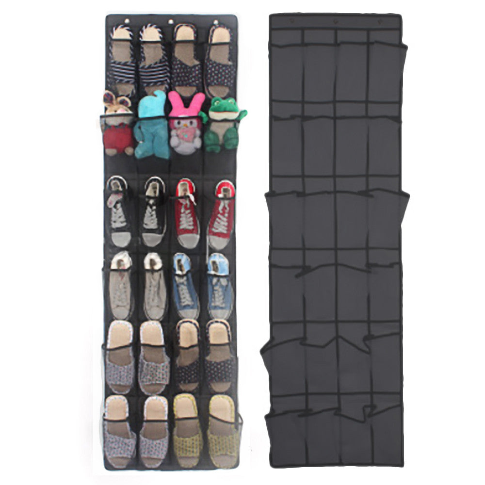 Hanging 24Pocket Shoe Organizer - POPHOLLY