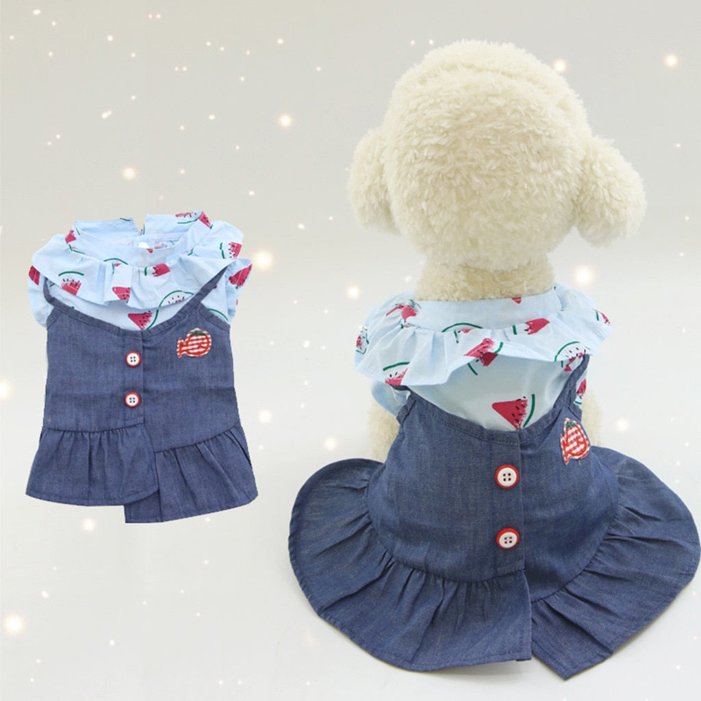 Puppy Skirt Dress - POPHOLLY