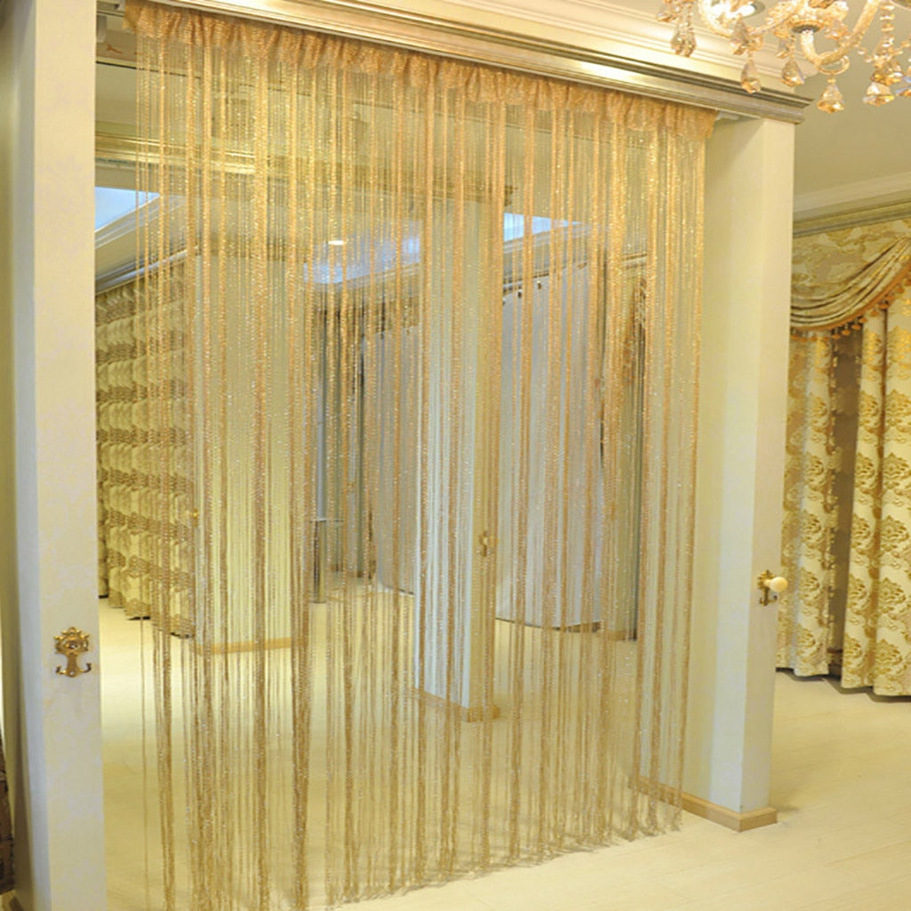 String Net  Curtains - POPHOLLY