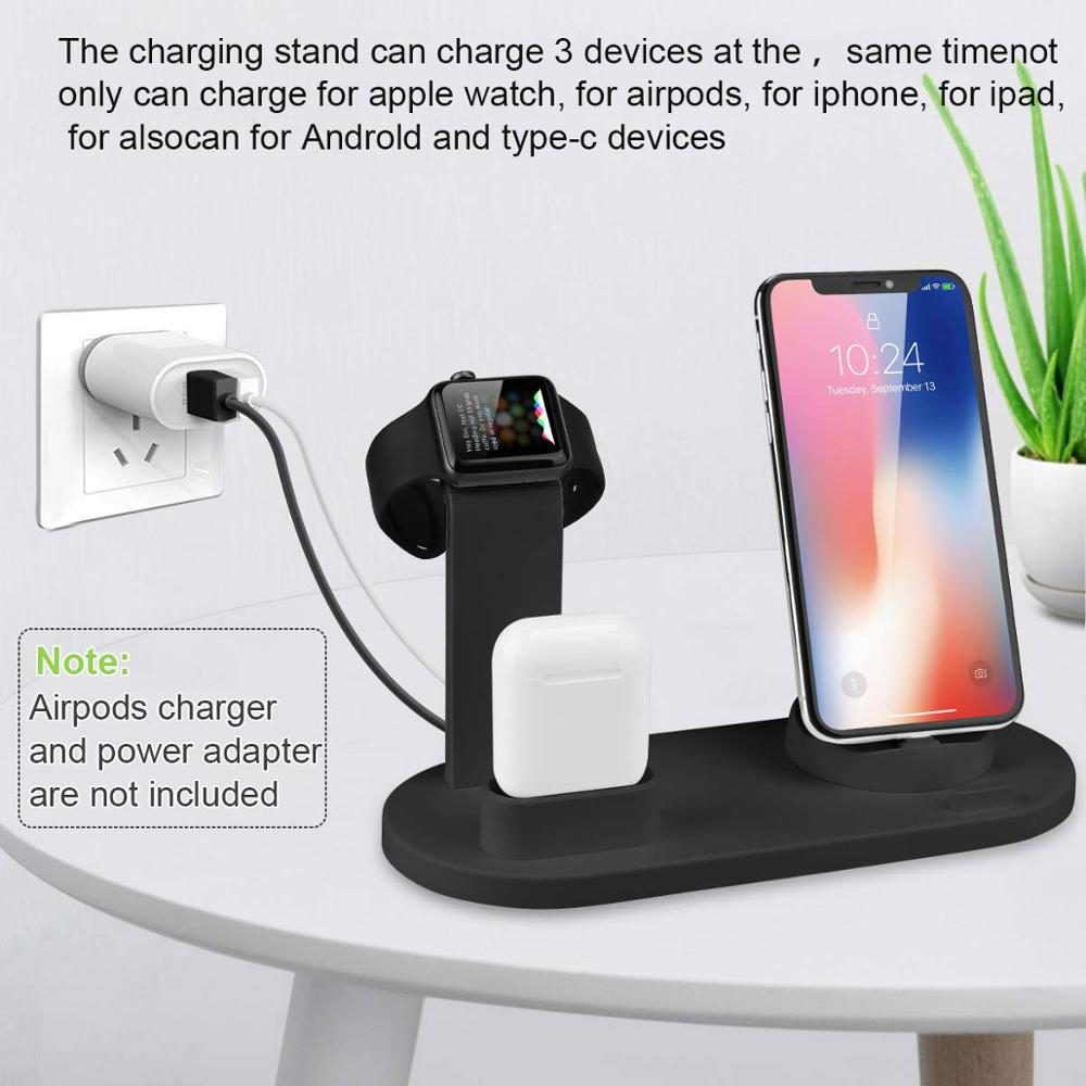 Charging Stand For iPhone & Apple Watch - POPHOLLY