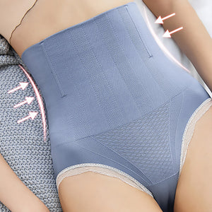 High Waist Abdomen Fat Shaping Pants - POPHOLLY