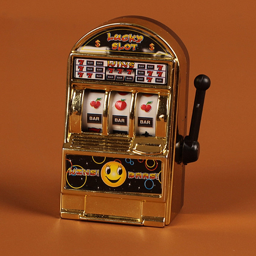 Lucky Strikes Slot Machine Toy - POPHOLLY