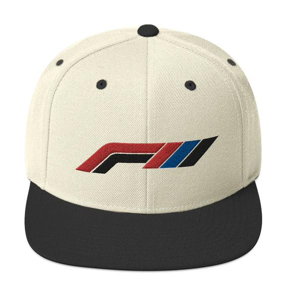 FIII Embroidered Snapback Hat