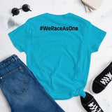 #WeRaceAsOne - Women's short sleeve t-shirt