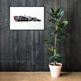 Formula 2 Framed Poster - ART