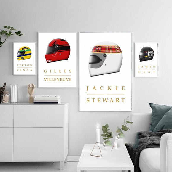 Formula 1 Champions Canvas Prints