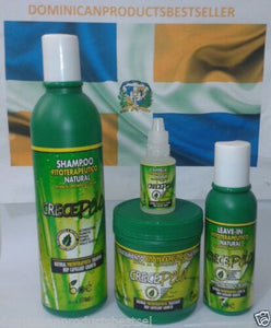 CRECE PELO BOE COMBO SHAMPOO HAIR TREATMENT LEAVE IN GROWTH