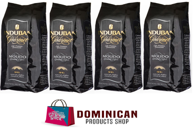 4 pound CAFE Santo Domingo INDUBAN GOURMET grounded dominican coffee 100% EUROPE