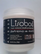 Cargar imagen en el visor de la galería, LISO BOE OIL BASED CREAM HAIR RELAXER 8 oz SUPER STRENGHT BRAZIL JAPAN EUROPE