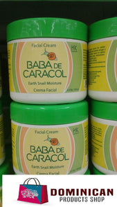 Crema de Caracol BABA DE CARACOL SNAIL CREAM by HK INDUSTRIAL Dominican Products