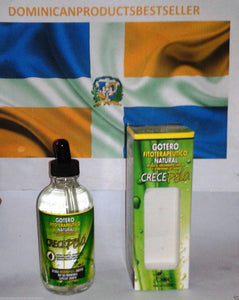 CRECE PELO BOE GOTERO DROPPER 4.25 OZ HAIR GROWTH LIQUID MIX