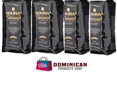 4 pound CAFE Santo Domingo induban gourmet roasted whole bean coffee 100% EUROPE