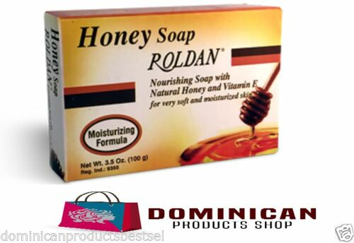 ROLDAN SOAP3.5 OZ HONEY SOAP MOISTURIZING FORMULA FOR SOFT AND SMOOTH SKIN