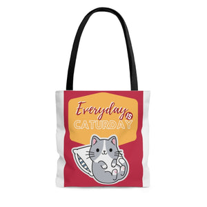 Open image in slideshow, Caturday Tote Bag