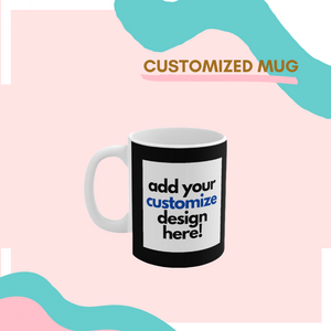 Open image in slideshow, Customized Mug