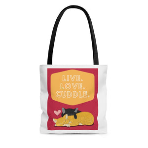 Open image in slideshow, Cuddle Tote Bag
