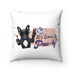 Open image in slideshow, Paw-ty Square Pillow