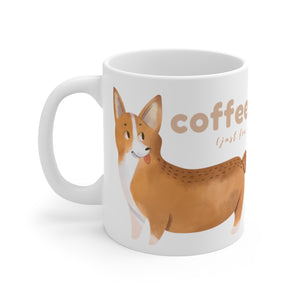 Open image in slideshow, Coffee + Corgis Mug