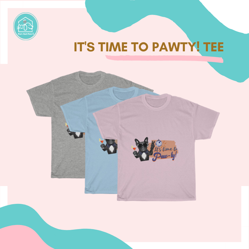 It's Time to Pawty! Tee