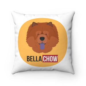 Open image in slideshow, Bella Chow Square Pillow