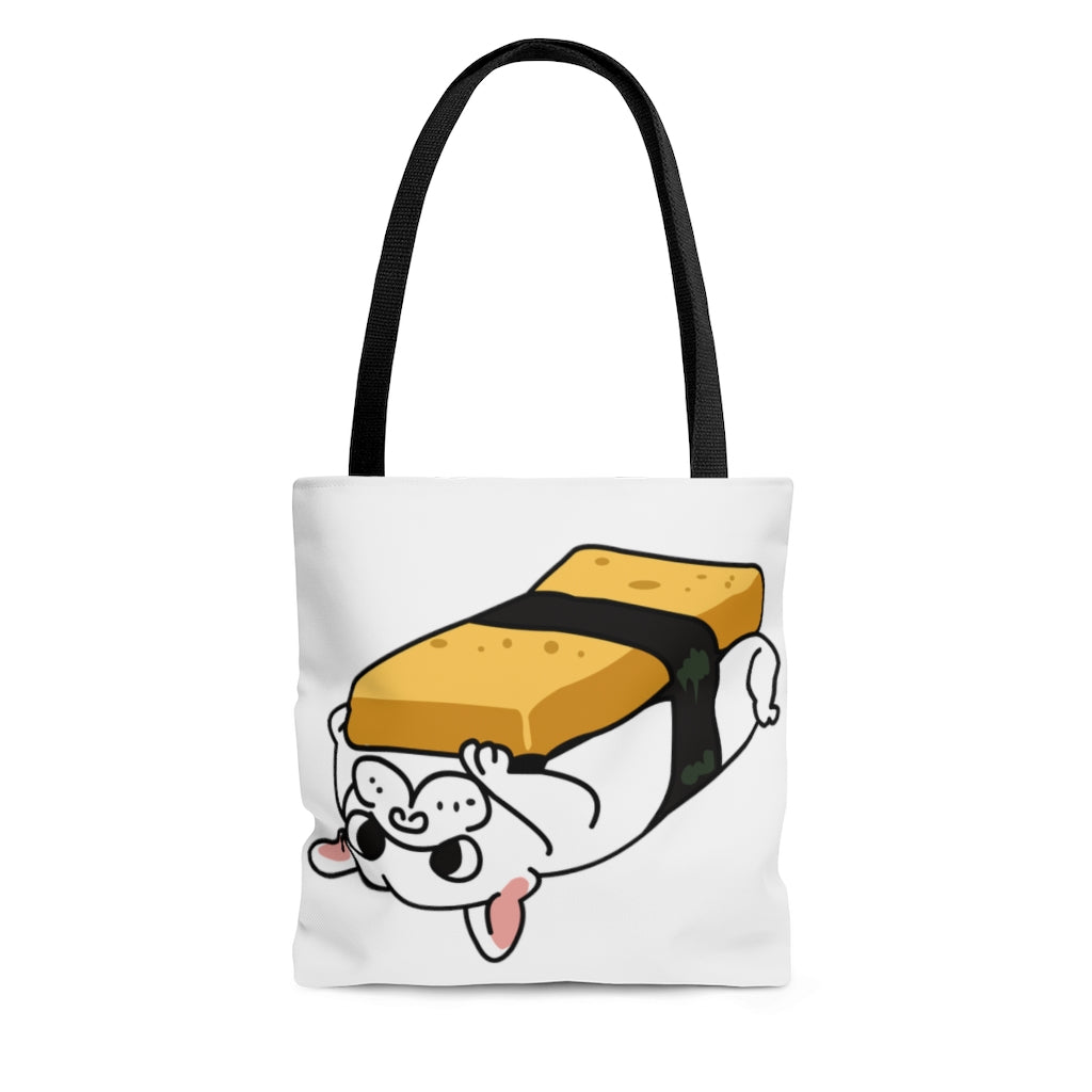Lay Bed Dog Tote Bag