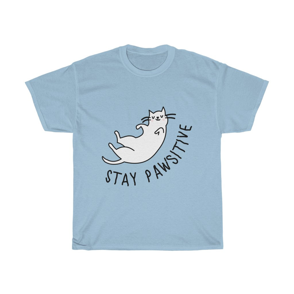 'Stay Pawsitive' Tee