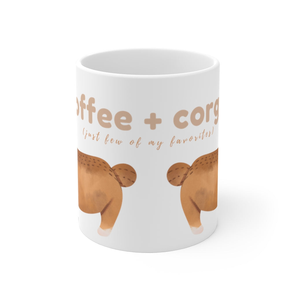 Coffee + Corgis Mug