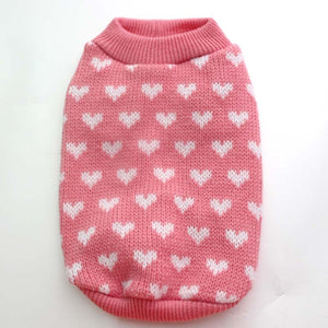 Open image in slideshow, Valentine Pet Sweater