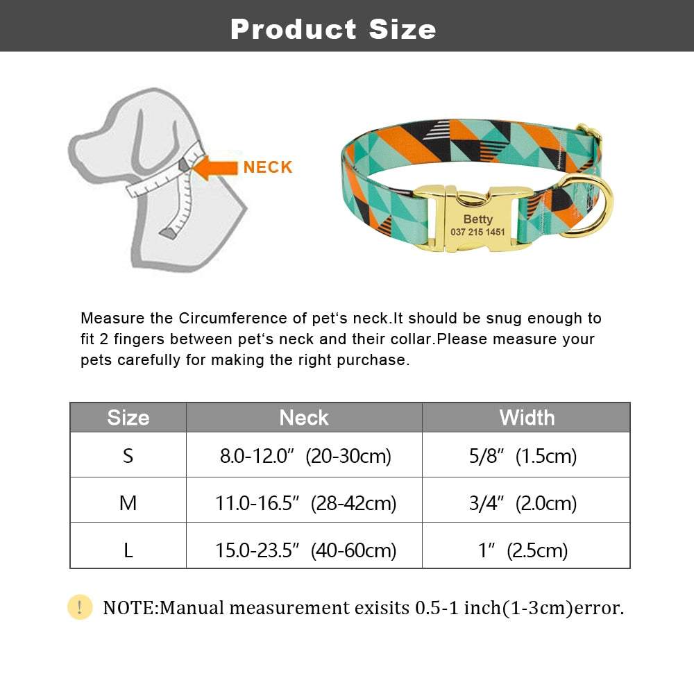 Charlie Personalized Pet Collar