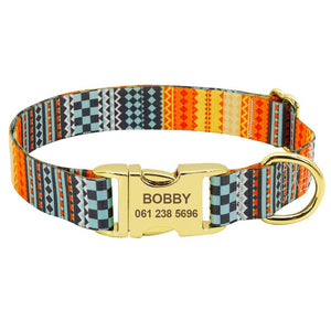 Open image in slideshow, Charlie Personalized Pet Collar