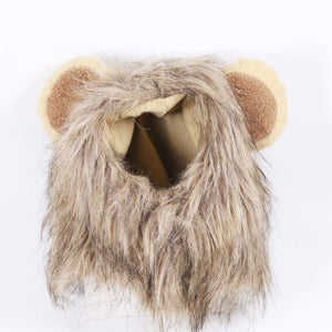 Open image in slideshow, Funny Lion Mane Pet Costume