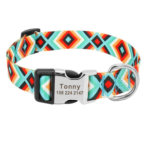 Open image in slideshow, Retro Pattern Customized Collar